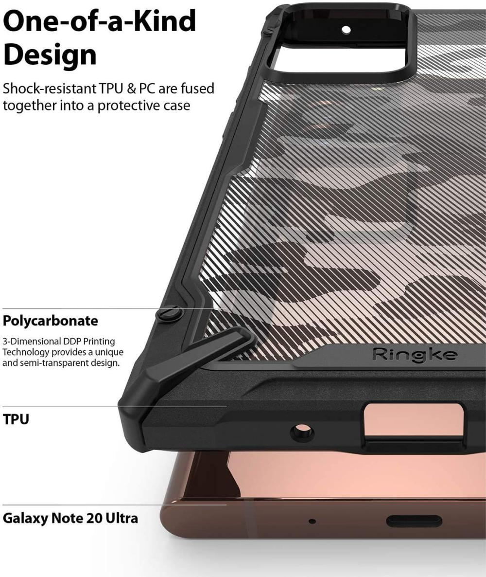 Ringke Fusion X Camouflage Case For Samsung Note 20 Ultra (4)