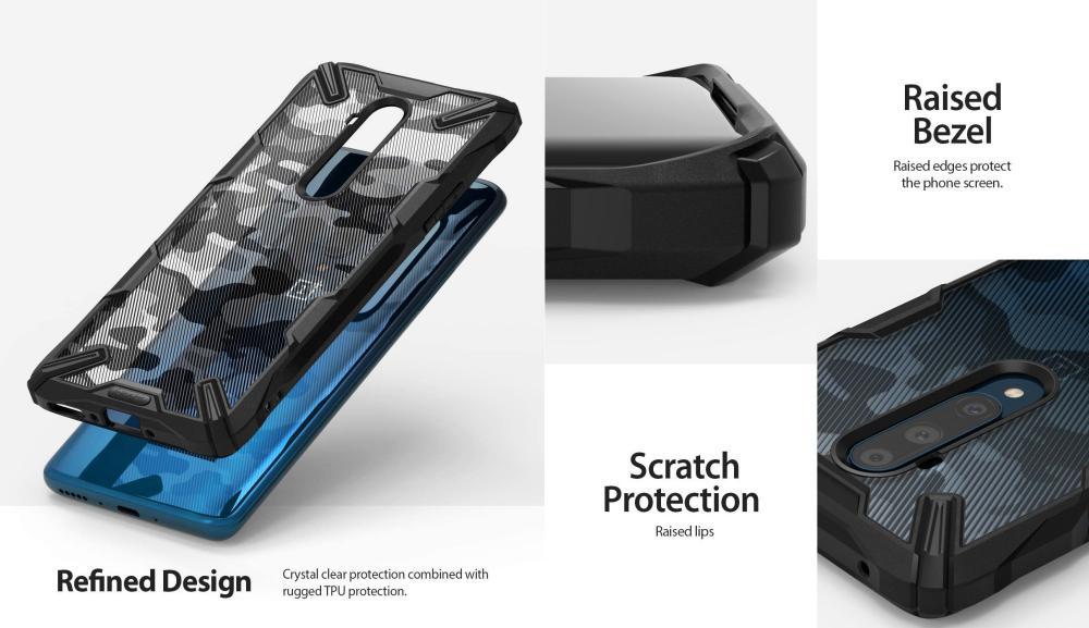 Ringke Fusion X Camouflage Military Grade Bumper Protective Case 7t Pro (3)