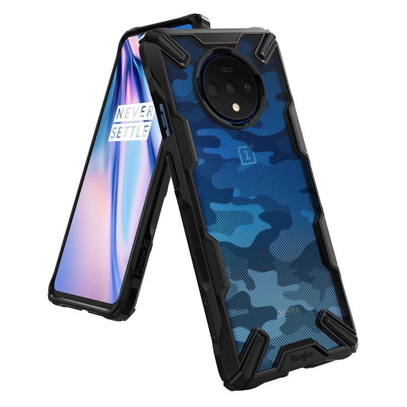 Ringke Fusion X Camouflage Military Grade Bumper Protective Case For Oneplus 7t (5)