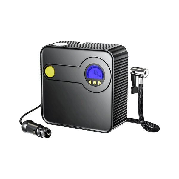Rock Portable Inflator Pump Car Air Compressor Dc 12v (1)