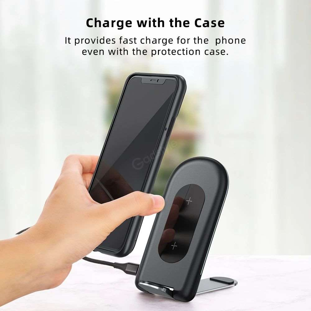 Rock W30 15w Foldable Desktop Stand Phone Holder (4)