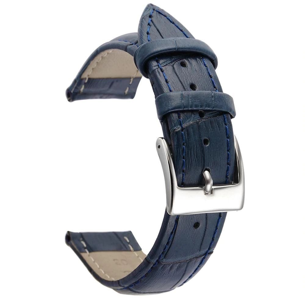 Soft Leather Watch Strap For 20mm 22mm Size (3)