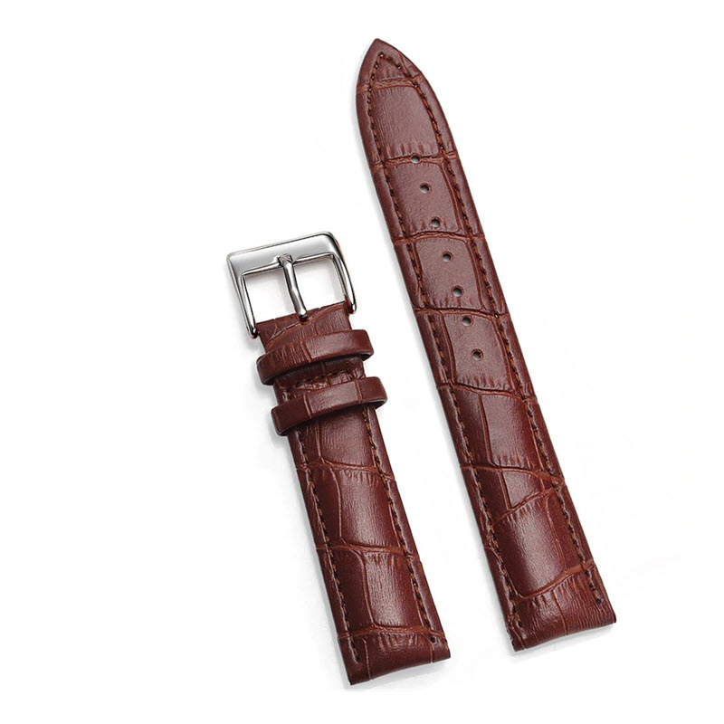 Soft Leather Watch Strap For 20mm 22mm Size (5)