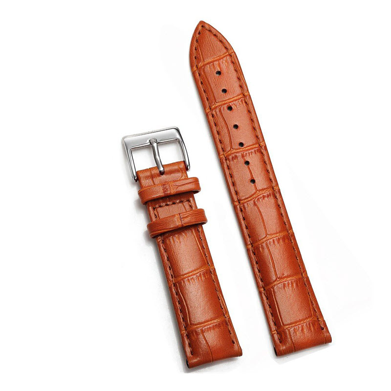Soft Leather Watch Strap For 20mm 22mm Size (6)