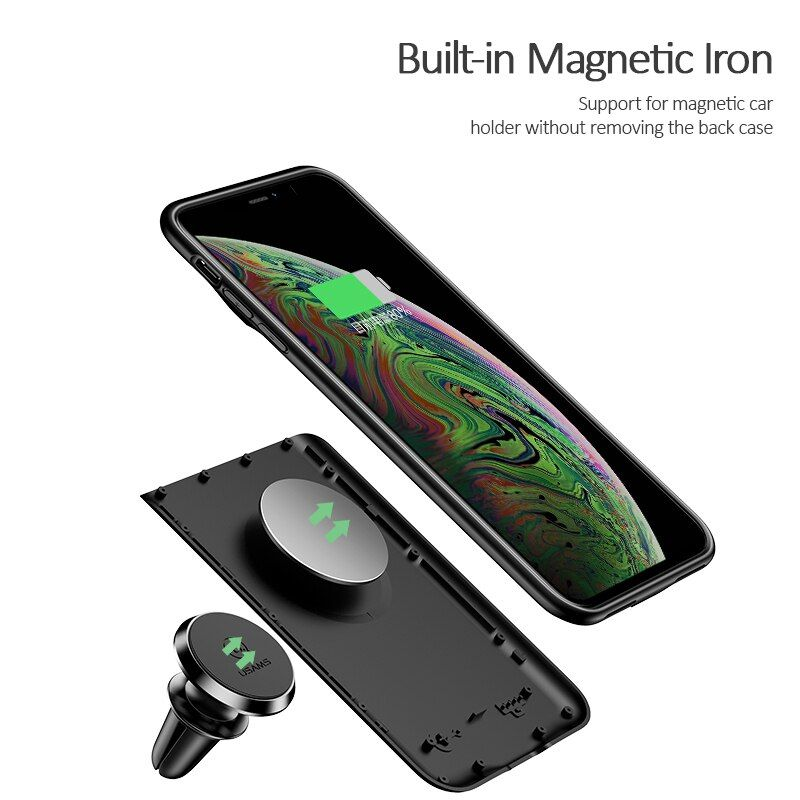 Usams Rechargeable Battery Case For Iphone Xs Max (6)