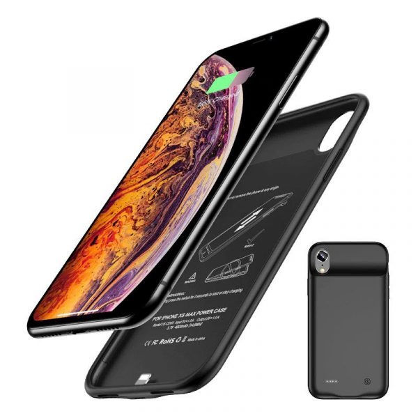 Usams Rechargeable Battery Case For Iphone Xs Max (7)