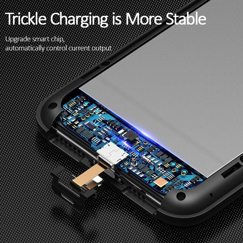 Usams Rechargeable Battery Case For Iphone Xs Max (9)
