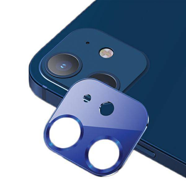 Usams Us Bh703 Metal Camera Lens Glass Film For Iphone 12 Blue