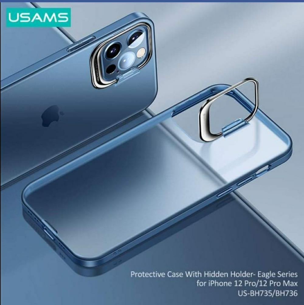 Usams Us Bh736 Protective Case With Hidden Holder For Iphone 12 Pro Pro Max (1)