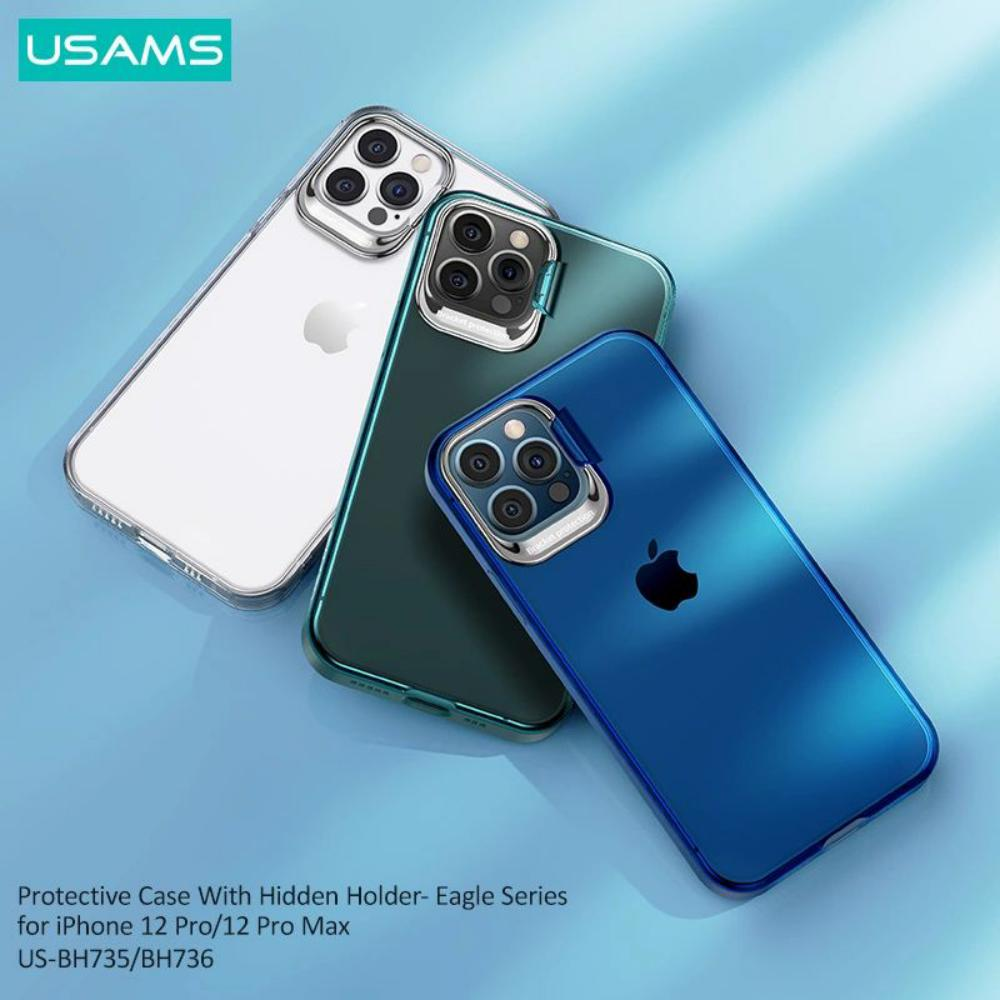 Usams Us Bh736 Protective Case With Hidden Holder For Iphone 12 Pro Pro Max (2)