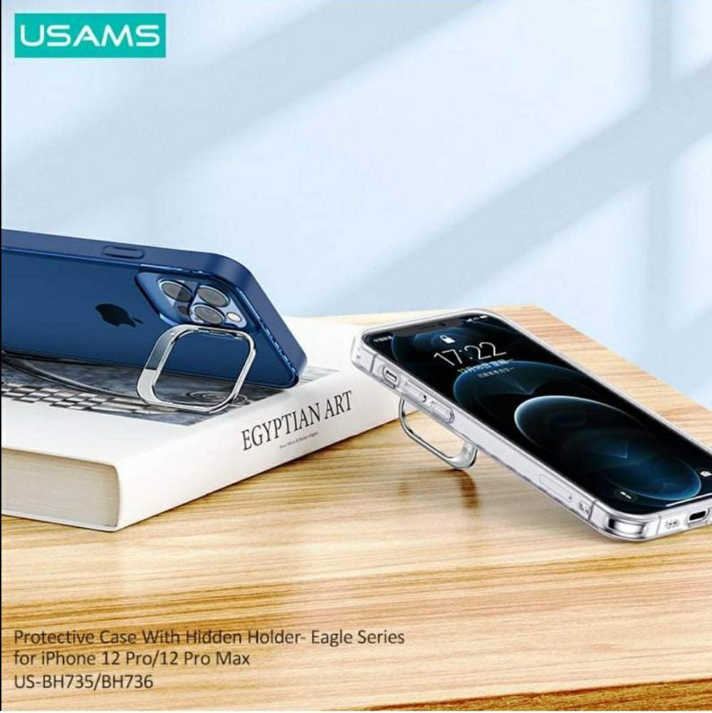 Usams Us Bh736 Protective Case With Hidden Holder For Iphone 12 Pro Pro Max (4)