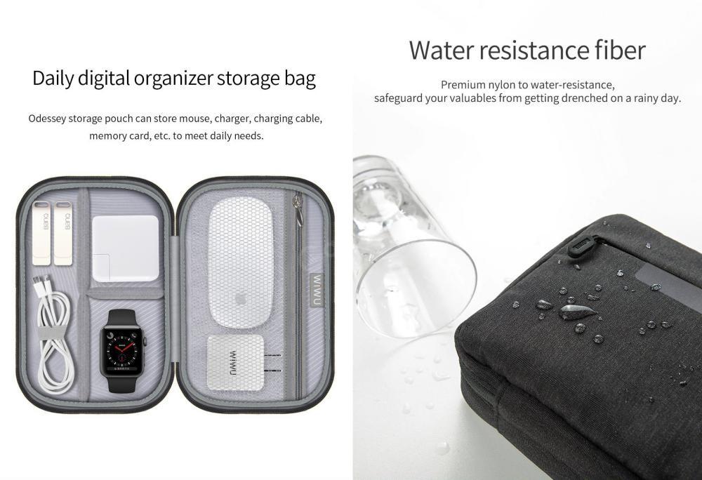 Wiwu Cozy Storage Bag Waterproof And Shock Resistant Organizer 8 2 Inch (2)
