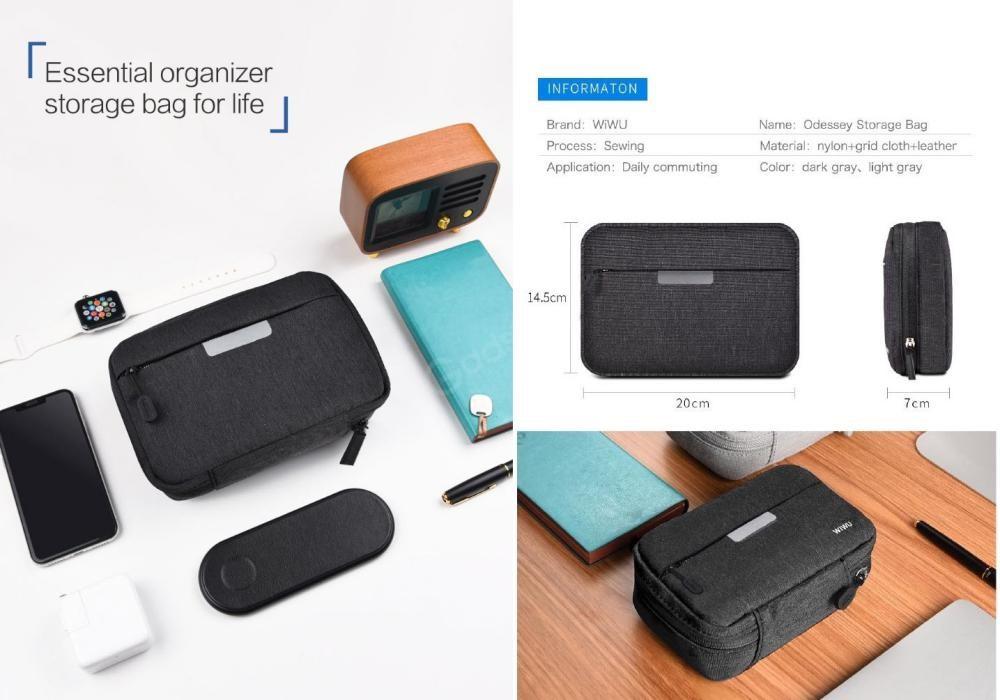 Wiwu Cozy Storage Bag Waterproof And Shock Resistant Organizer 8 2 Inch (3)