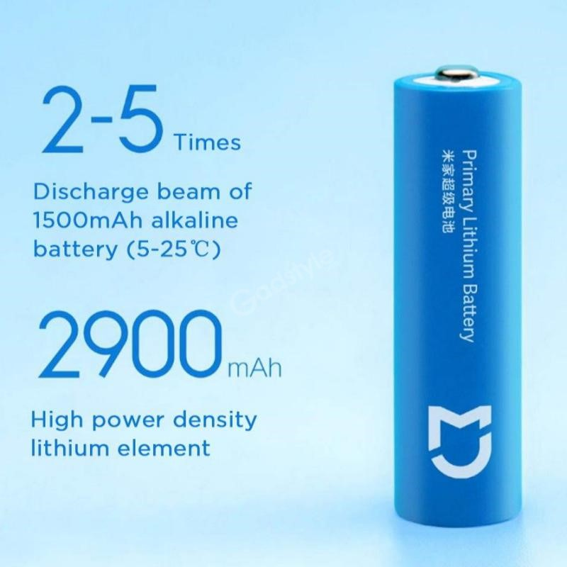 Xiaomi Aa Super Battery 2900mah Lithium Iron Battery (5)