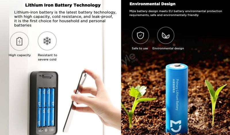 Xiaomi Aa Super Battery 2900mah Lithium Iron Battery (6)