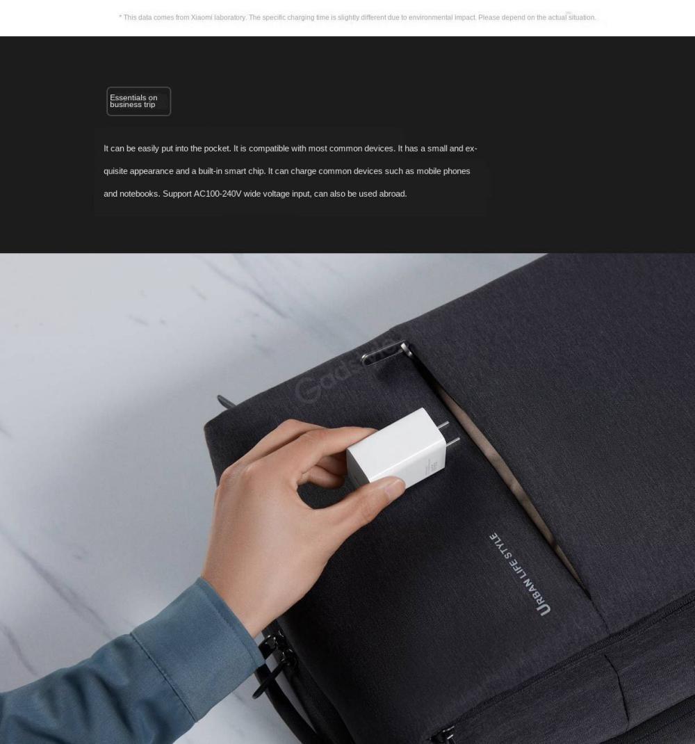 Xiaomi Gan Type C 55w Charger (1)
