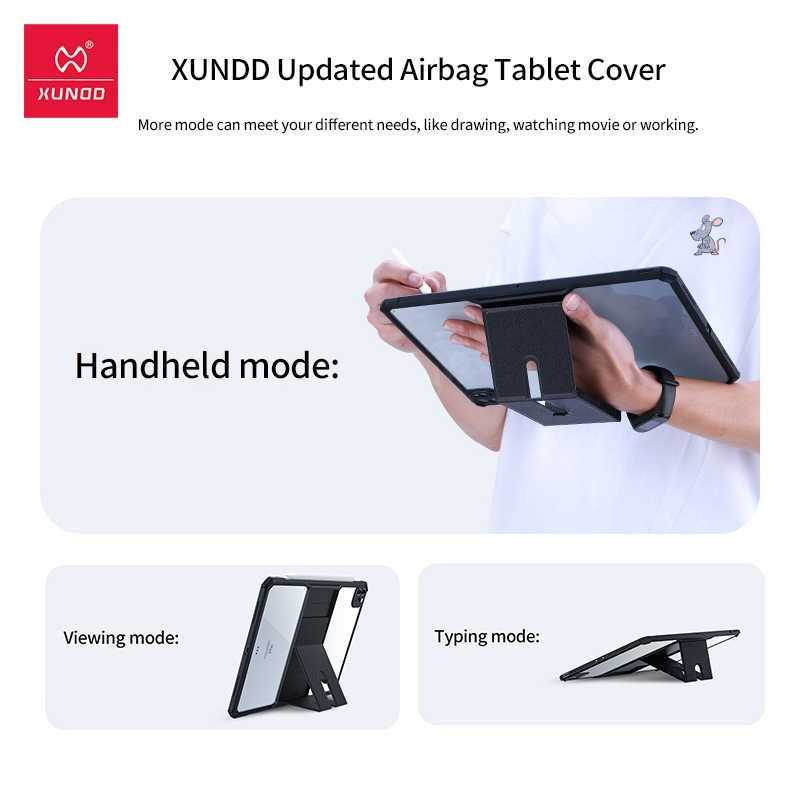 Xundd Luxury Airbag Handheld Typing Mode Case For Ipad 10 9 2020 And 11 2020 (2)