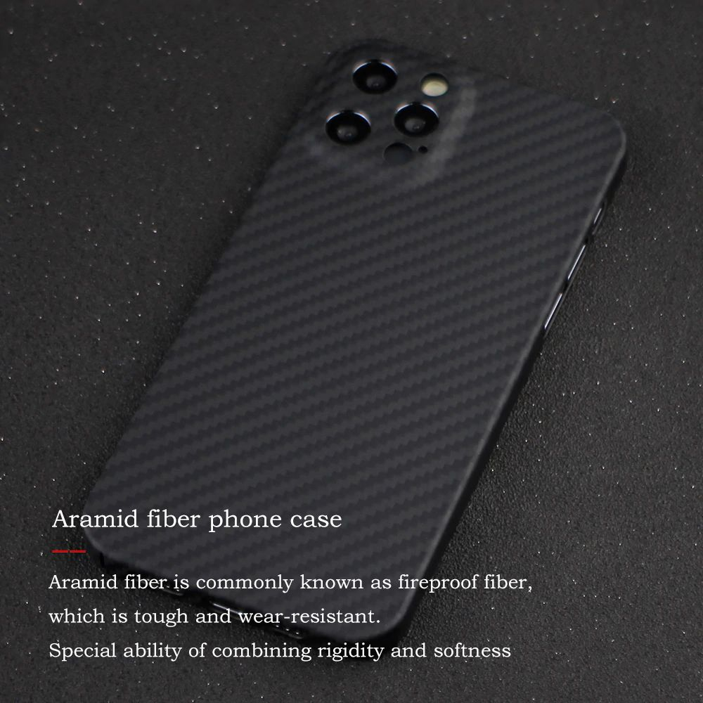 Ytf Carbon Real Carbon Camera Protective Case For Iphone 12 Pro Max (2)