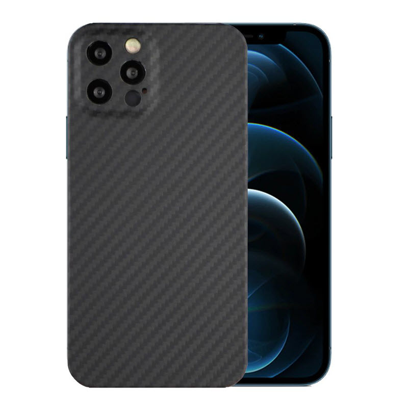 Ytf Carbon Real Carbon Camera Protective Case For Iphone 12 Pro Max (3)