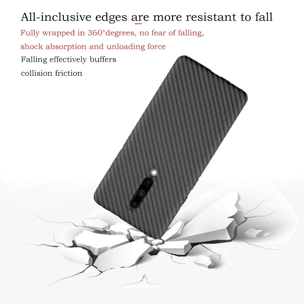 Ytf Carbon Real Carbon Fiber Case For Oneplus 7 Pro (2)