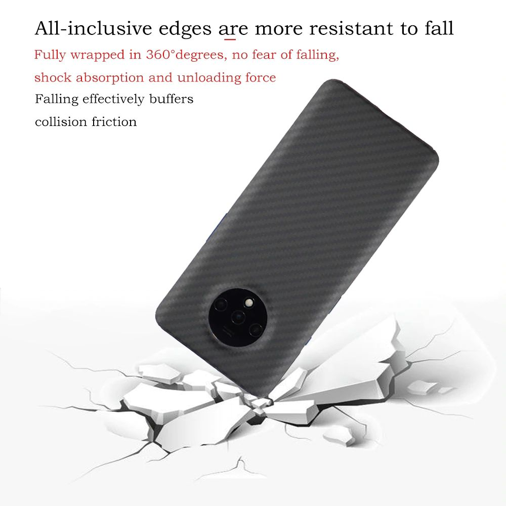 Ytf Carbon Real Carbon Fiber Case For Oneplus 7t (3)