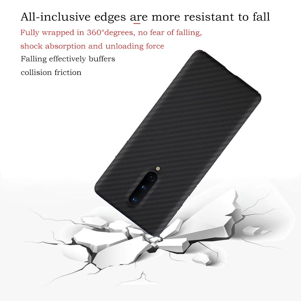 Ytf Carbon Real Carbon Fiber Case For Oneplus 8 (2)