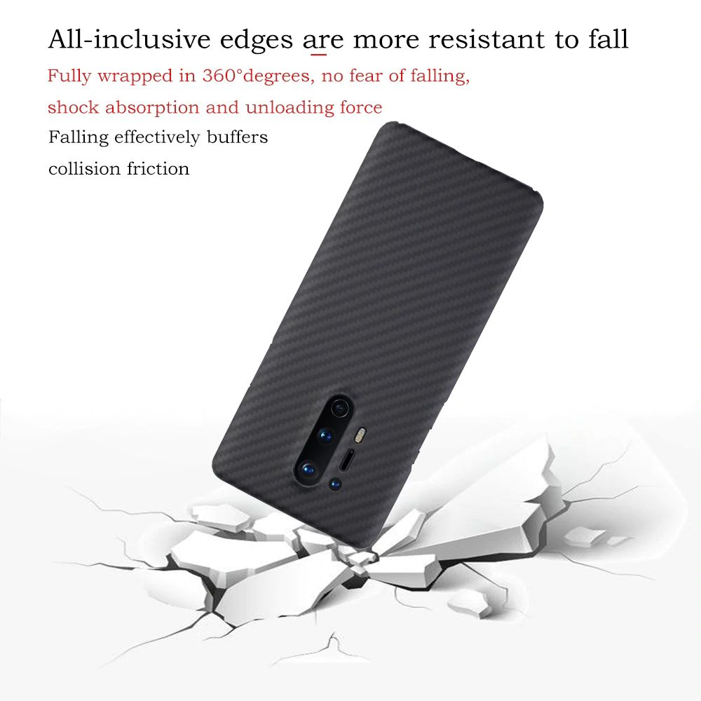 Ytf Carbon Real Carbon Fiber Case For Oneplus 8 Pro (1)