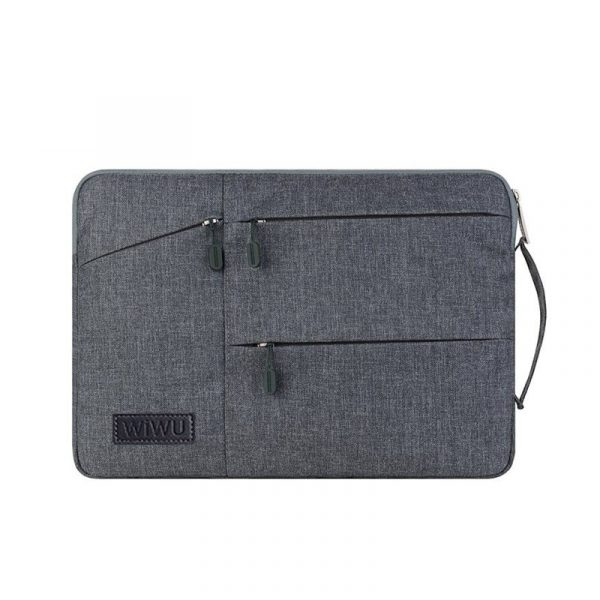 Wiwu Premium Nylon Fabric 360 Degree Protection Waterproof Laptop Sleeve(2)