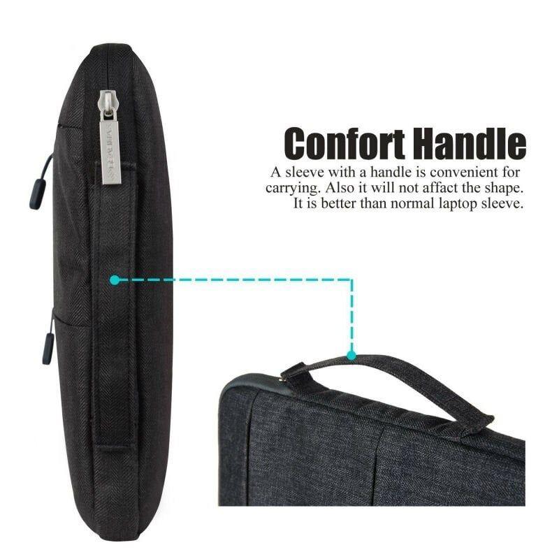 Wiwu Premium Nylon Fabric 360 Degree Protection Waterproof Laptop Sleeve(3)