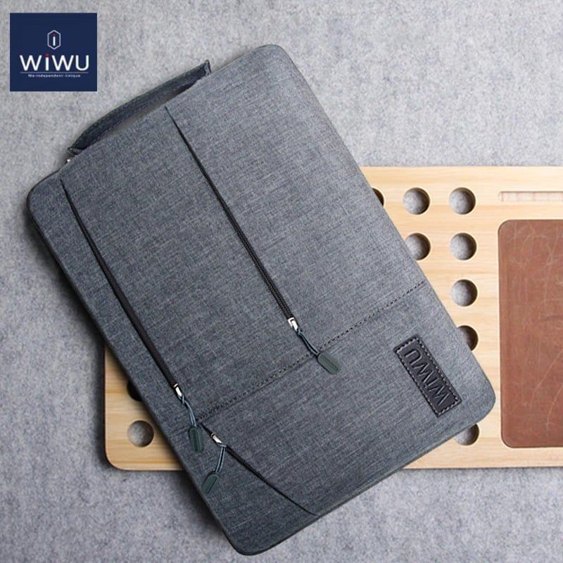 Wiwu Premium Nylon Fabric 360 Degree Protection Waterproof Laptop Sleeve(5)