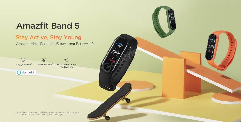 Amazfit Band 5 Fitness Tracker With Amazon Alexa (4)