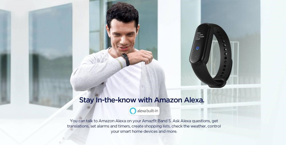 Amazfit Band 5 Fitness Tracker With Amazon Alexa (5)