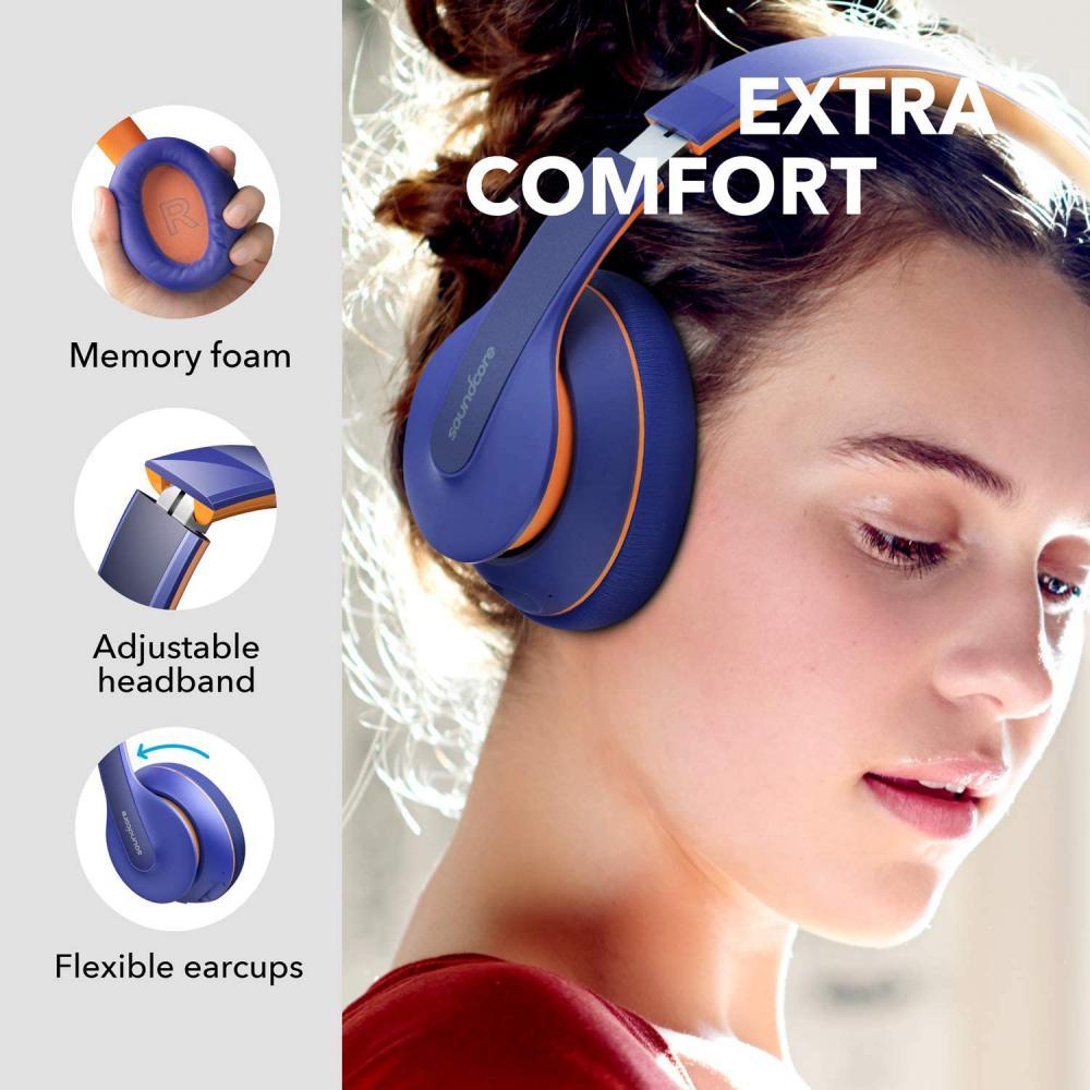 Anker Soundcore Life Q10 Wireless Bluetooth Headphones Blue (2)
