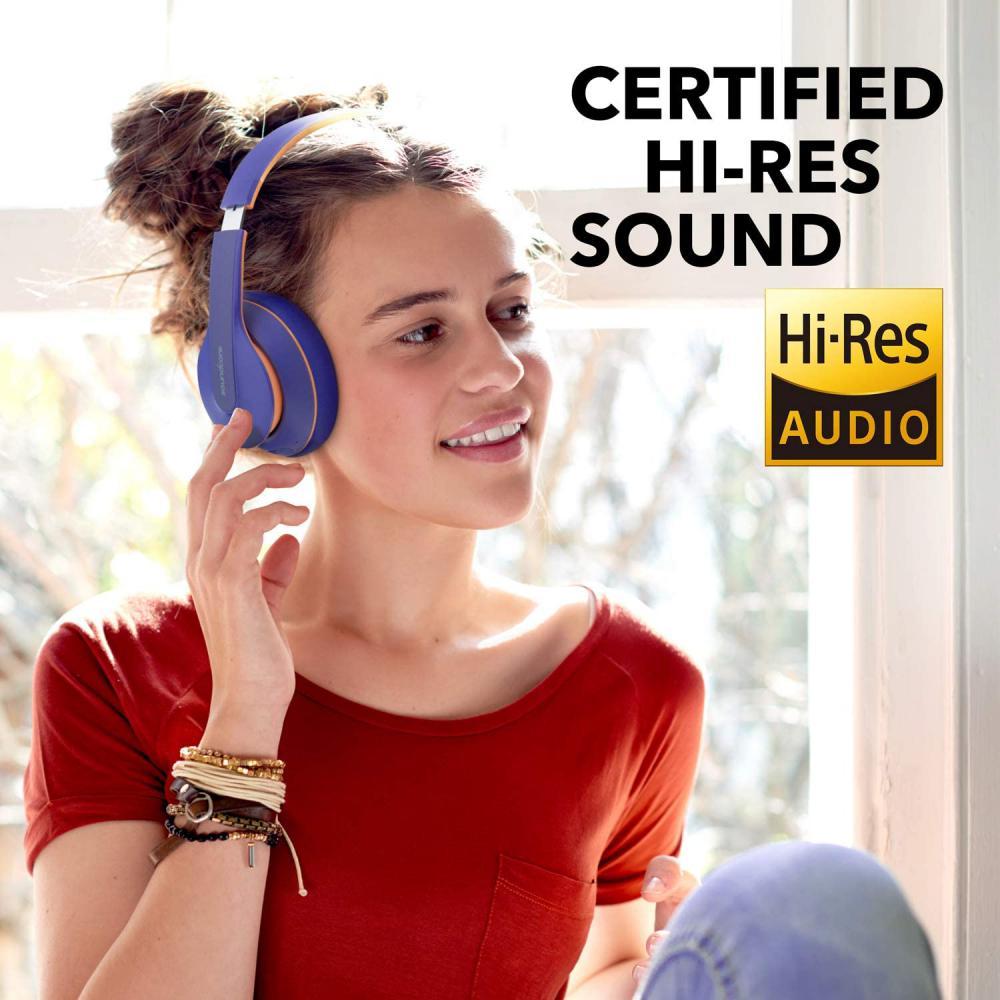 Anker Soundcore Life Q10 Wireless Bluetooth Headphones Blue (3)