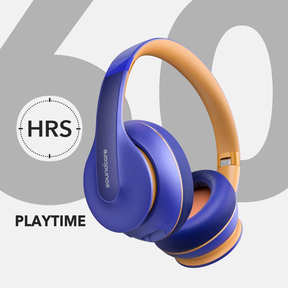 Anker Soundcore Life Q10 Wireless Bluetooth Headphones Blue (6)