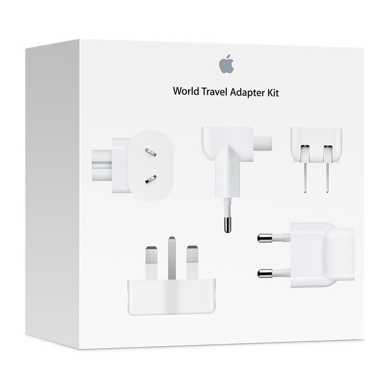 Apple World Travel Adapter Kit Power Connector Adapter Kit (1)