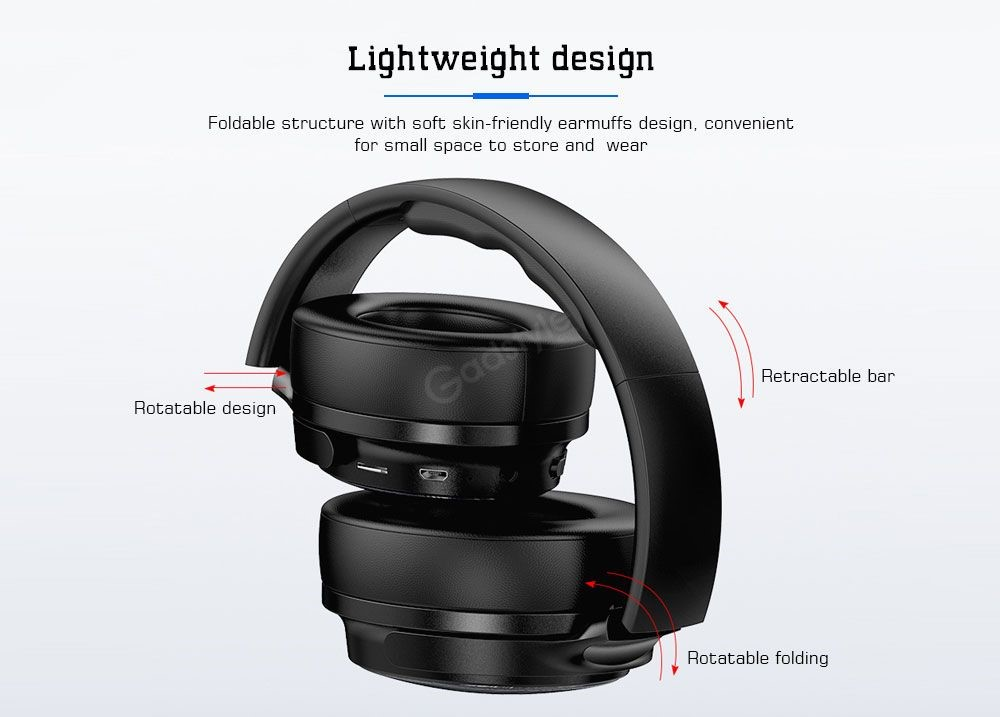 Awei A780bl Bluetooth 5 0 Wireless Wired Headphones (2)