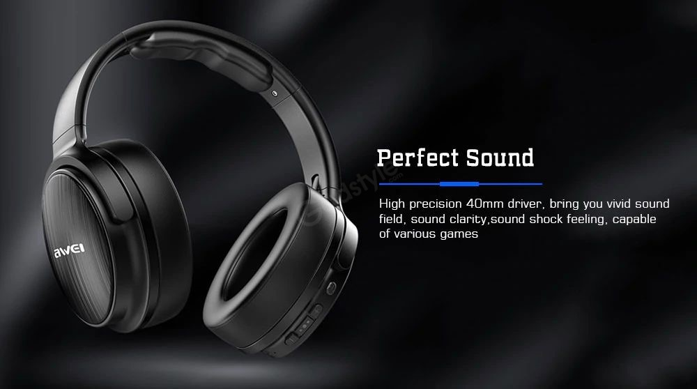 Awei A780bl Bluetooth 5 0 Wireless Wired Headphones (4)