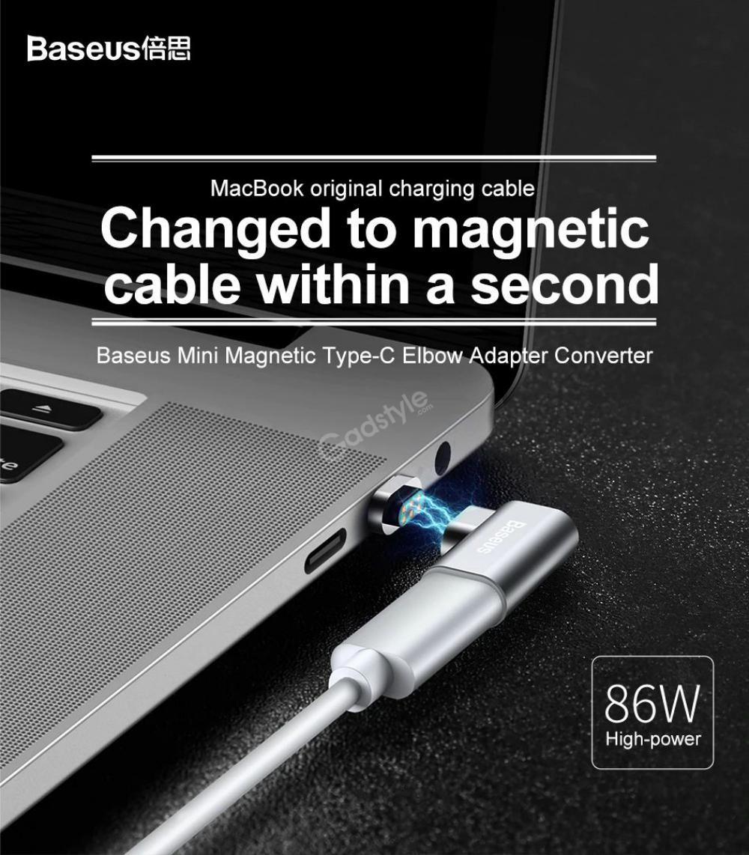 Baseus 86w Mini Magnetic Usb Type C Charging Adapter (6)