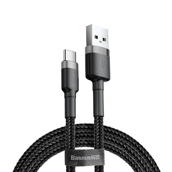 Baseus Cafule Braided Type C Fast Charging Cable (1)