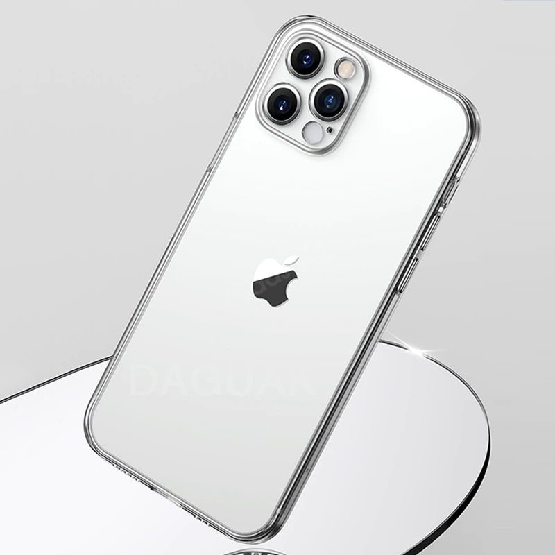 Baseus Camera Lens Protection Clear Phone Case For Iphone 12 12 Mini 12 Pro 12 Pro Max (1)
