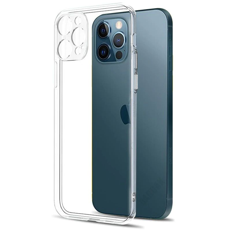 Baseus Camera Lens Protection Clear Phone Case For Iphone 12 12 Mini 12 Pro 12 Pro Max (5)
