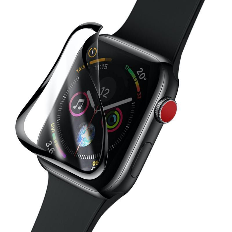 Baseus Full Screen Curved Tempered Glass Soft Screen Protector Ap Watch 44mm (1)