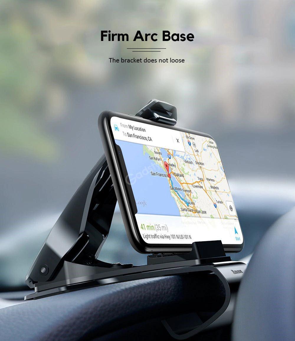 Baseus Mouth Dash Mount Car Holder For Smartphones (5)