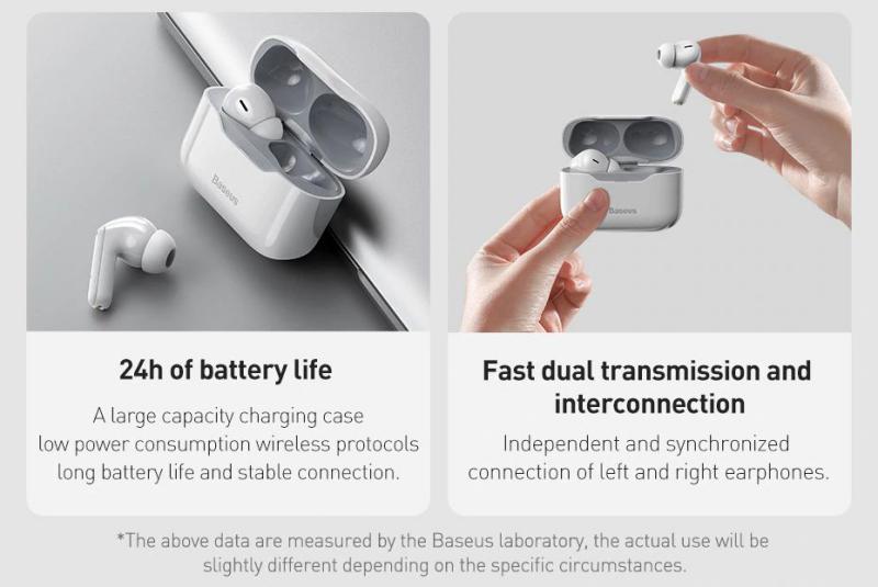 Baseus Simu S1 Pro Anc True Wireless Earphones Blue (3)