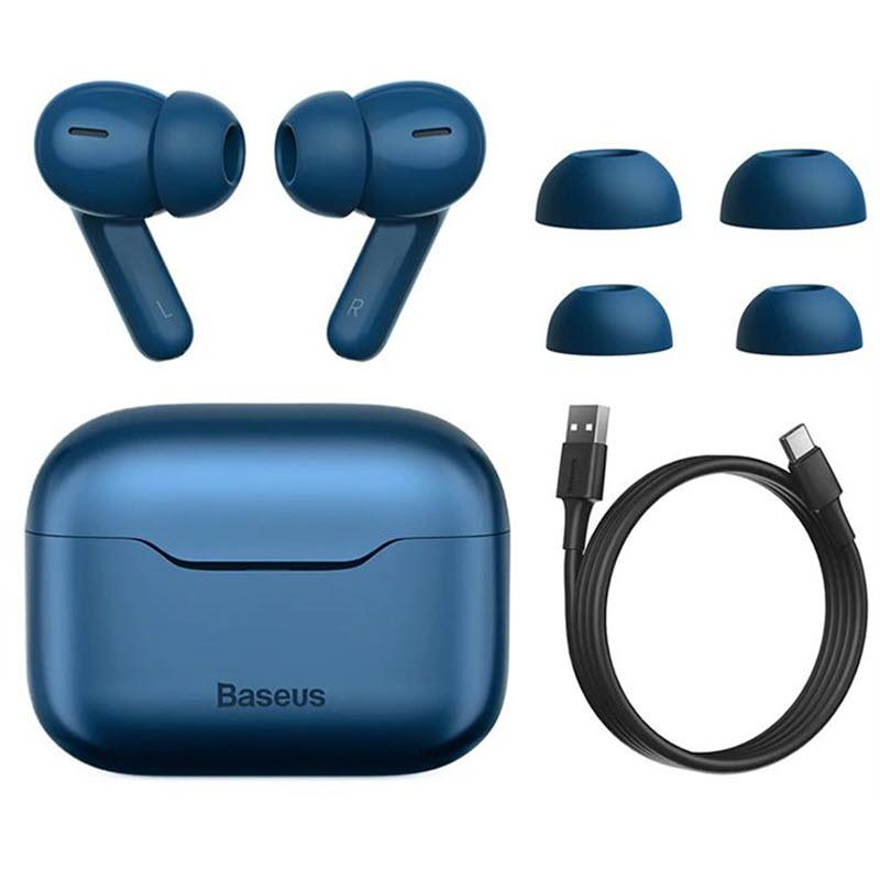 Baseus Simu S1 Pro Anc True Wireless Earphones Blue