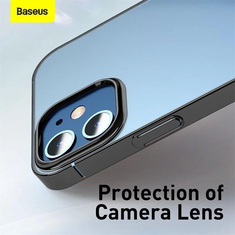 Baseus Transparent Glitter Phone Case For Iphone 12 12 Mini 12 Pro 12 Pro Max (1)