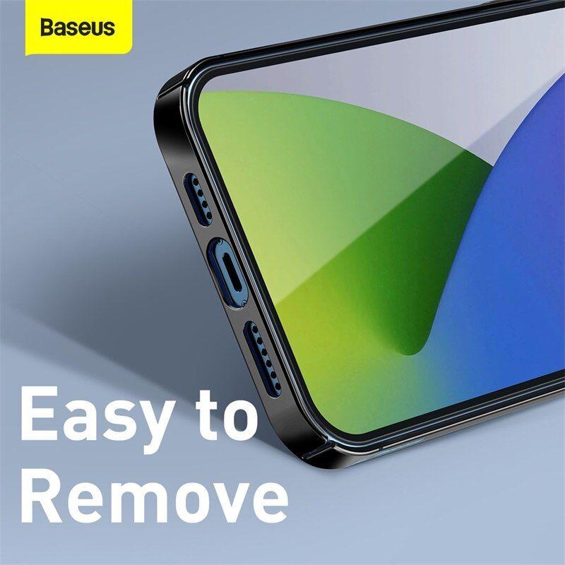 Baseus Transparent Glitter Phone Case For Iphone 12 12 Mini 12 Pro 12 Pro Max (2)