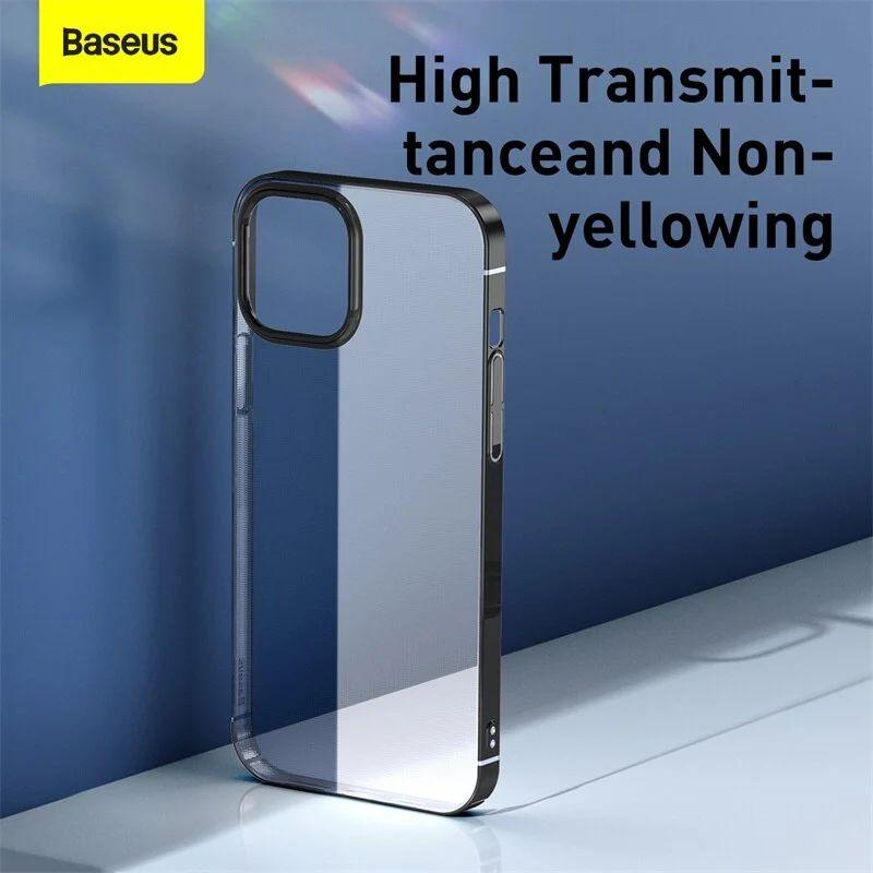 Baseus Transparent Glitter Phone Case For Iphone 12 12 Mini 12 Pro 12 Pro Max (4)