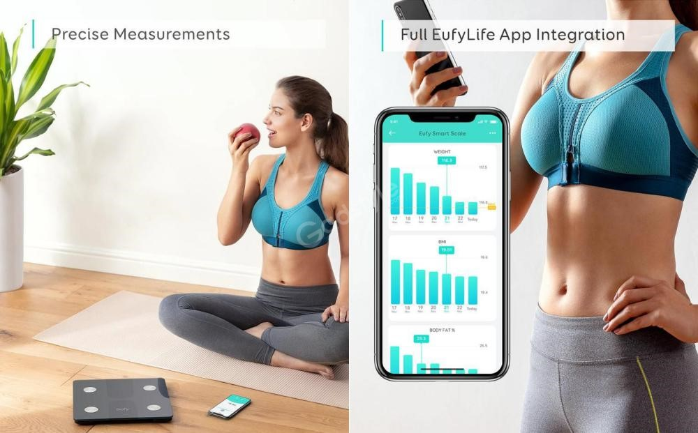 Eufy Smart Scale C1 With Bluetooth Body Fat Scale (1)